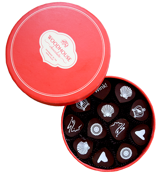 12 Piece Woodhouse Chocolates Set
