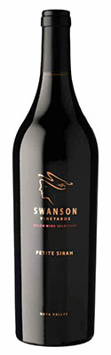 2015 Swanson Vineyards Petite Sirah, Salon Select, Napa Valley, 750ml
